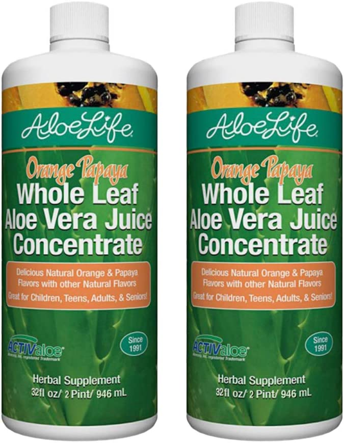 Aloe Life Omaha Mall Direct stock discount - Whole Leaf Juice Vera Occ Supports Concentrate