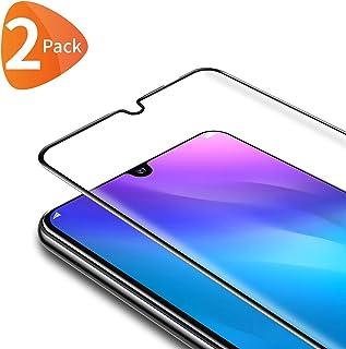 Dureza 9H Cobertura Completa Negro Didisky Cristal Templado Protector de Pantalla para Xiaomi Mi A2 Lite, 4-Unidades