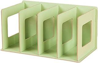 AOIWE Simple Multi-Niveau Boûhar 4 grilles étagère créative de Stockage pour Livres Sundries Bricolage Bois d'armoire d'ar...