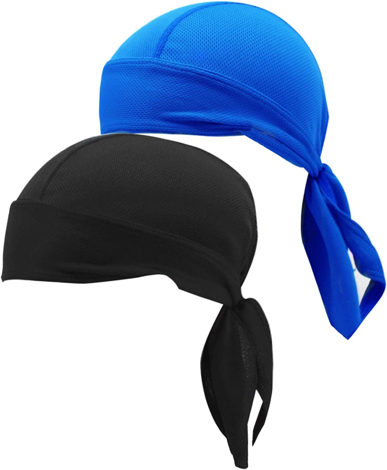 2 Pack Sweat Wicking Cycling Helmet Liner Beanie Caps Skull Challenge Cheap super special price the lowest price