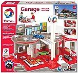 Starlux – Garage totale con Station-Servizio completo 2 niveli, a partire da 3 anni, Made in Europe (Garage 2 niveali)