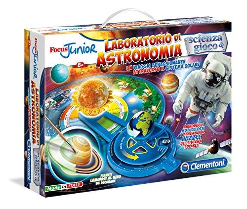 Clementoni 13818 – Focus Junior - Jeu éducatif (français Non Garanti) Focus Laboratoire d'astronomie
