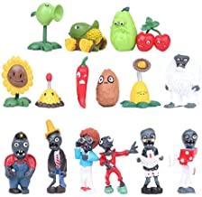 Plants vs Zombies Figures Set  Toy Display Collection sets Xmas Gift