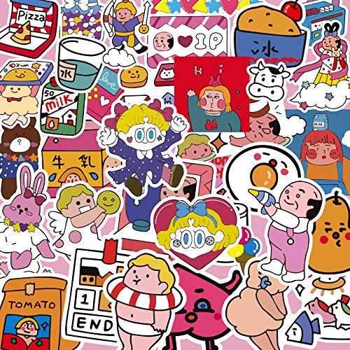 YZFCL Japón y Corea del Sur, Laboratorio de oxígeno, Pegatinas para Ordenador, Pegatinas para teléfono móvil, Pegatinas para portátil, Pegatinas para Casos Traseros, Impermeables