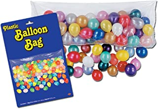 Beistle Plastic Balloon Drop Bag For Birthday Celebration New Year's Eve Party Supplies