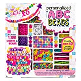 Just My Style ABC Beads By Horizon Group USA, DIY Jewelry Making Kit With 1000+ Charms & Beads, Alphabet...