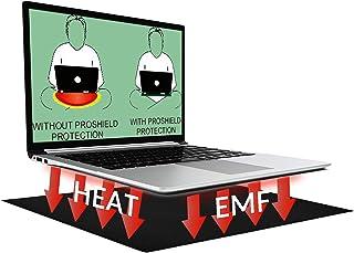 لوحة الكمبيوتر المحمول NewBeau EMF للحماية من الإشعاع والحرارة تستخدم لحماية الجسم من تأثيرات EMF، تناسب أجهزة الكمبيوتر ا...