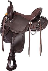 King Series Mesquite Mule Saddle