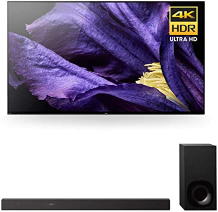 "$3498 Get Sony XBR-55A9F 55"" Master Series BRAVIA OLED 4K HDR TV and HT-Z9F 3.1-Channel Dolby Atmos Soundbar with Subwoofer"