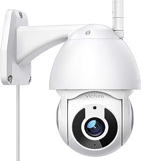 Victure Telecamera WiFi Esterno FHD 1080P Telecamera IP con Vista Panoramica/Inclinazione a 360° Visione Notturna Impermea...