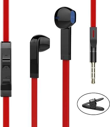 Headphones, Earphones Earbuds Headphones with Microphone...