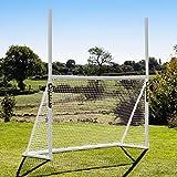 FORZA Combi Poteaux de Rugby et Football | But Multisport en PVC (Variété de Tailles) (2,4m x 1,5m)