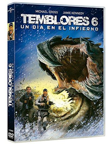 Temblores 6: Un Día En El Infierno [DVD]