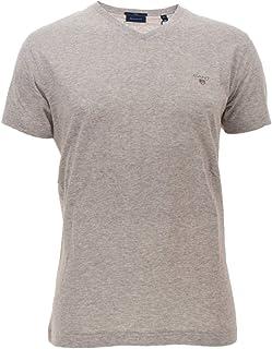 GANT Men's The Original Slim V-neck T-shirt T-Shirt