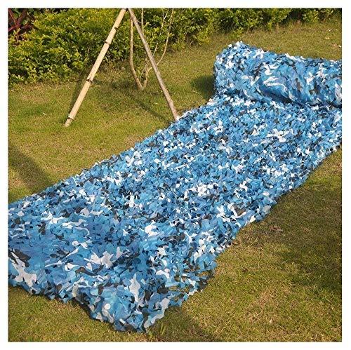 2Mx3M Tarnung Tarnnetz Netto-Netto-Sonnenschirme, Schießen Tibetische Armee Militärische Jagd Wald, Oxford Tuch Zeltkampieren (Size : 6 * 7m)