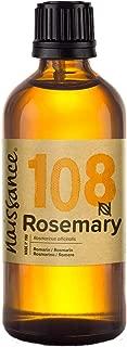 Naissance Aceite Esencial de Romero n. º 108 – 100ml - 100% Puro, vegano y no OGM