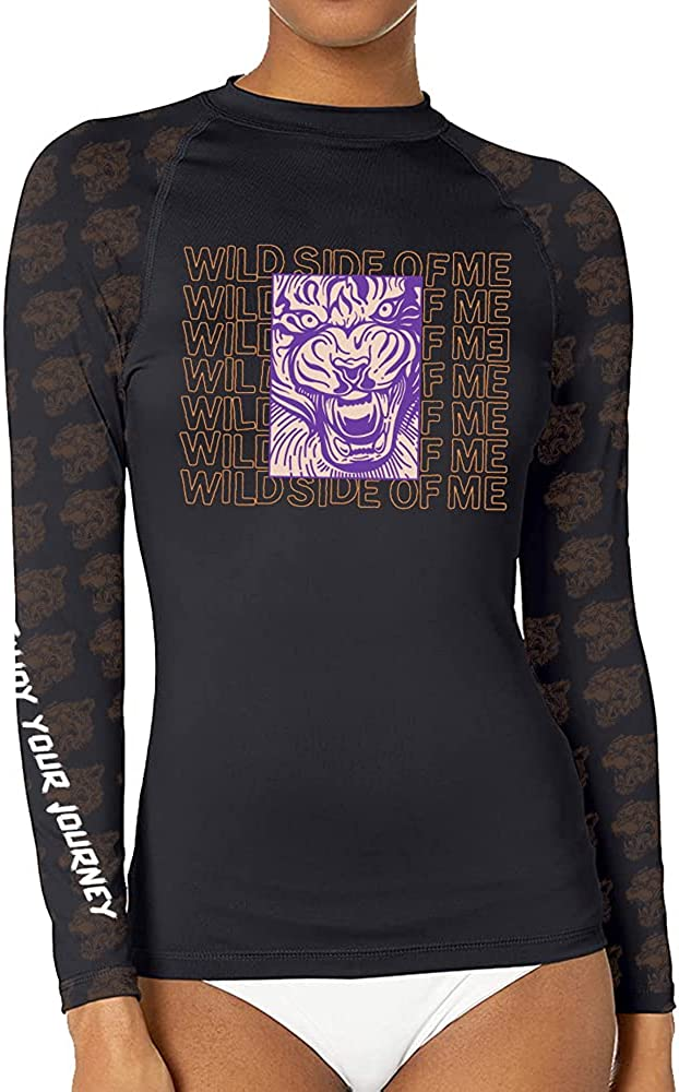CHOO Women's Leopard Cat Cheap mail order sales Long Sleeve Wicking T-ShirtR Max 53% OFF Sports