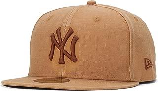 (ニューエラ) NEW ERA キャップ 59FIFTY HEAVY WASHED DUCK CANVAS MLB ニューヨークヤンキース