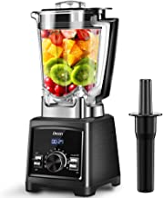 Blender Decen Smoothie Maker, 35000 RPM High Speed Professional Countertop Blender for Ice, Shakes and Smoothies, Nuts and Butter, 9-Speeds Control, 72OZ BPA-Free Tritan Pitcher, 1450W