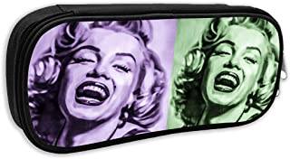 Marilyn Monroe 1502475114RYL Pencil Case, Big Capacity Pen Pencil Bag Cosmetic Makeup Bags Pouch Box Organizer Holder for School Office Supplies