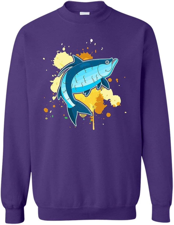 Mazoli Tarpon colorful Sweatshirt, Long Sleeve Outerwear