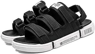 HYZXK Zuecos y Mulas para Hombre Sandalias de Verano Zapatos de Playa Transpirables para Exteriores para Hombre Sandalias ...