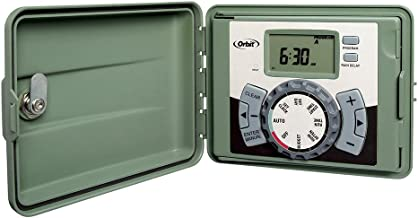 Orbit 57899 9-Station Outdoor Swing Panel Sprinkler System Timer
