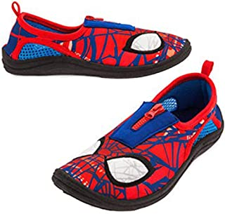 Shop Disney Marvel Spider-Man Swim Shoes For Kids - Beach Pool (11)