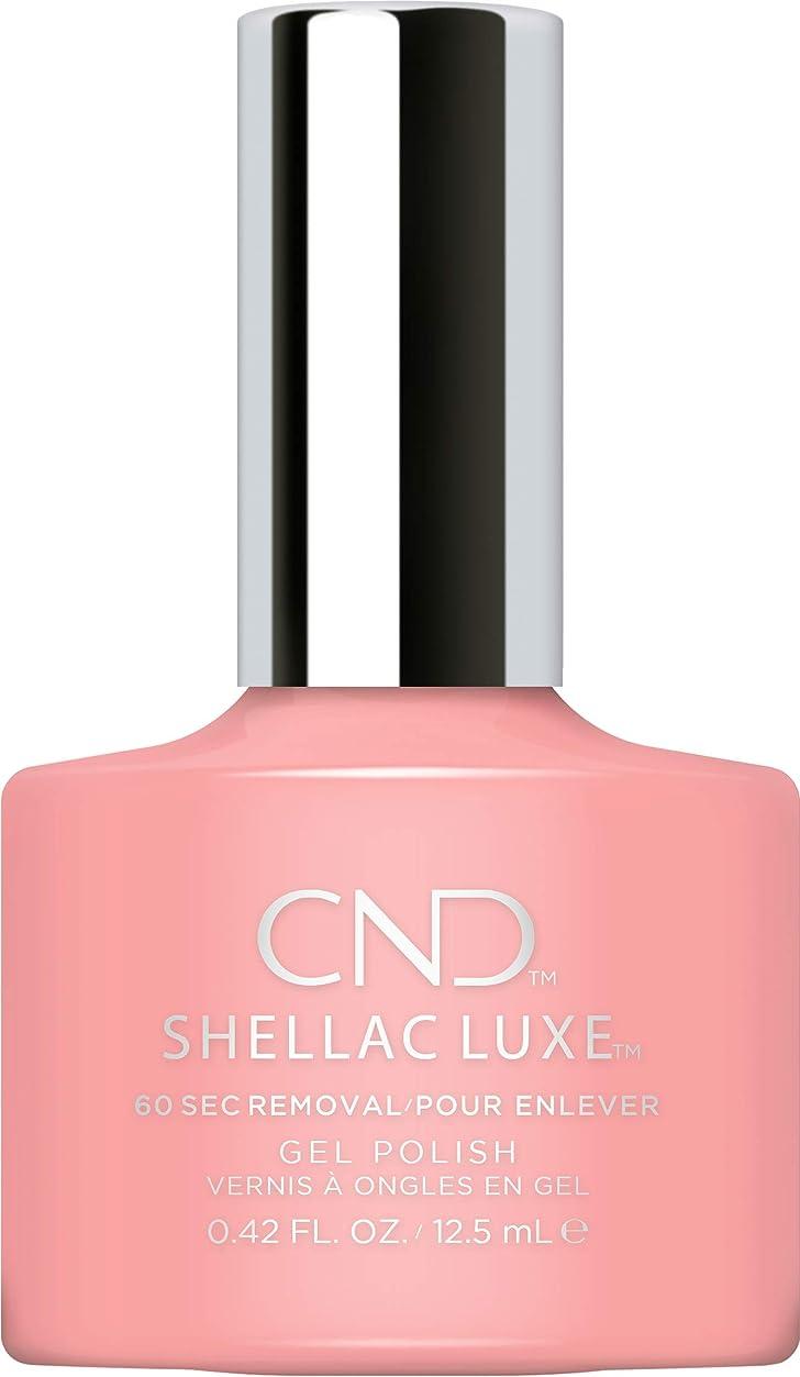 任命ダムおいしいCND Shellac Luxe - Pink Pusuit - 12.5 ml / 0.42 oz