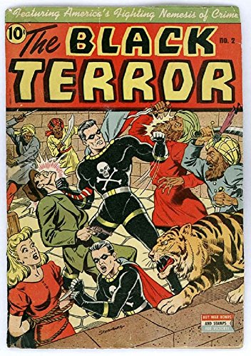 The Black Terror - Issue 002 (Golden Age Rare Vintage Comics Collection (With Zooming Panels) Book 2) (English Edition)