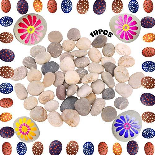 Lisa Guijarros Piedras 10 Piezas Pintar Rocas Roca Roca Lisas Piedras De Cantos Guijarros De Playa Pintar Rocas Piedras Rocas Naturales Del Rio Pequeñas Rocas Pintura Para La Decoración Del Jardín