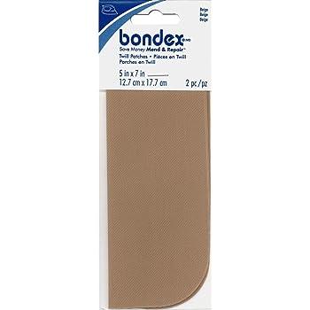 Bondex Iron-On Patches 5x7 2//Pkg.-Beige