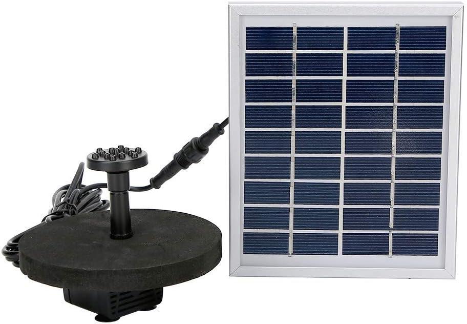 Genuine Solar Fountain Pump 9V 2.0W Credence Backup Floati Panel Water