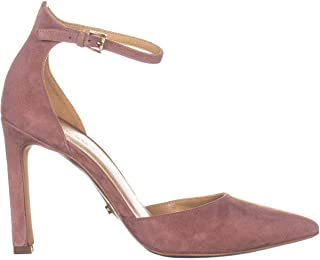 Womens Lisa Leather Pointed Toe Ankle, Dusty Rose, Size 7.5