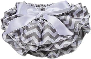 DELEY Neonate Bimba Stripes Onda Ruffle di Bloomers Slip Mutandine Pannolino Cover