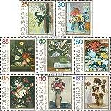 Prophila Collection Polonia Michel.-No..: 3237-3244 (Completa.edición.) 1989 Blumenstilleben (Sellos para los coleccionistas) Pintura