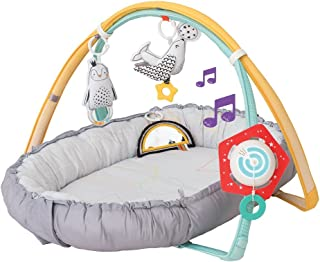 Taf Toys 4 in 1 Music and Light Thickly Padded Newborn Cozy Mat | Interactive Baby Mat. Baby's Activity and Entertainment ...