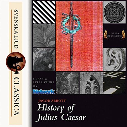 History of Julius Caesar audiobook cover art