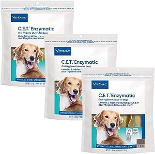 C.E.T. سگ جویدنی خوراکی آنزیمی بیش از 50 پوند 30 کیلوگرم (3 بسته) ، مدل: 90607-3