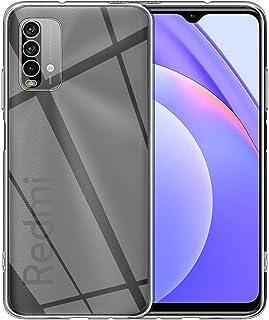 ELYCO Coque pour Xiaomi Redmi 9T, [Anti-Chute] [Anti-Collision] Coque Ultra-Mince pour Couverture en Gel TPU [Absorption d...