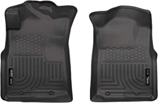 Husky Liners 13941 Fits 2005-15 Toyota Tacoma Access Cab/Double Cab, 2005-14 Toyota Tacoma Standard Cab Weatherbeater Front Floor Mats , Black