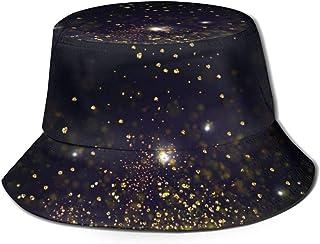 Bucket Hat Packable Reversible Blue Fire Print Sun Hat Sombrero de Pescador Gorra Acampar al Aire Libre Pesca Safari
