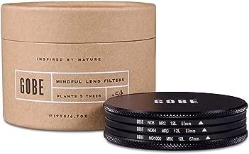 Gobe ND Filter Kit 67mm MRC 12-Layer: ND8, ND64, ND1000