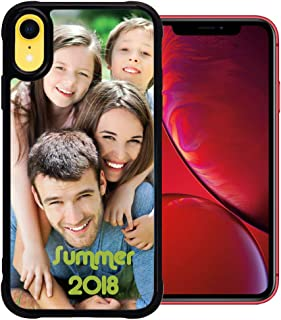 PixCase XR (6.1 inch) – Picture Frame Case – Compatible with Apple iPhone XR – DIY – Insert Your Own Photos or Create Custom Designs Online - Change Anytime – Shock Absorbing Protection