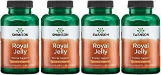 Swanson Royal Jelly - Maximum Strength 333.33 mg 100 Sgels 4 Pack