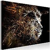 murando - Bilder Löwe 120x80 cm Vlies Leinwandbild 1 TLG
