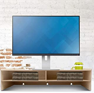 RBSD Miljövänlig skrivbordsförvaringshylla med stor kapacitet, laptopstativ, vattentätt, robust och hållbart hemmakontor f...