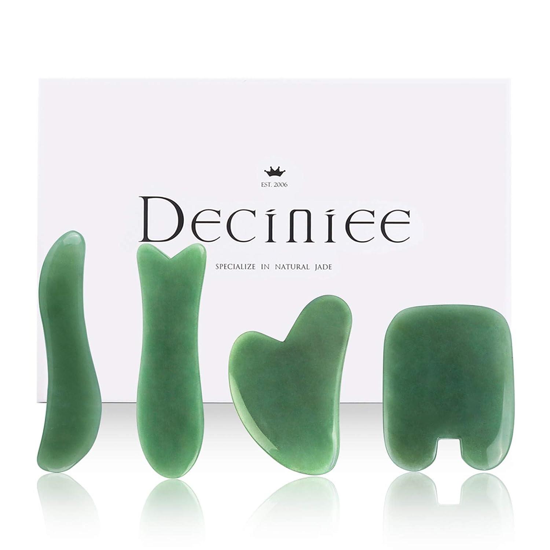 Deciniee Gua Popular brand Sha Massage Tool Stone Bargain sale Real Natural Jade Nephrite