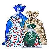 Bolsas de Regalos Navidad, Saco Packaging 30 Piezas, Bolsa N