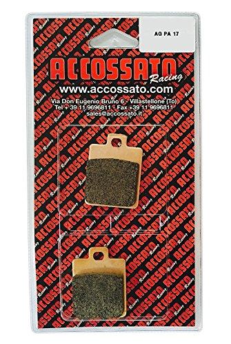 Accossato Pastiglia freno AGPA17ST, GILERA  STALKER 50, 50 (1997)